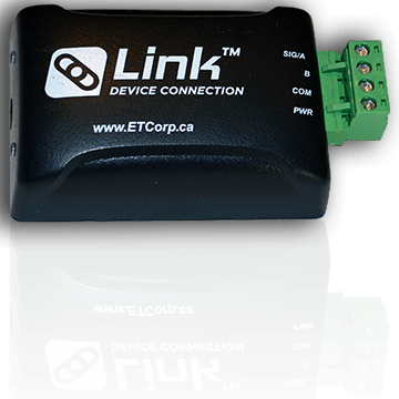 ETC Link Device Connection