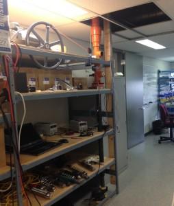 Motor driven test setup
